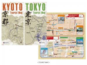 東京・京都ツーリストマップ