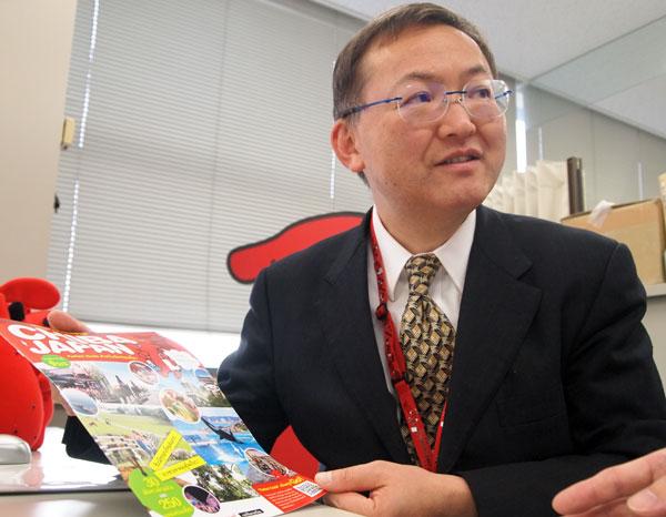 千葉県のインバウンドの課題について語る松岡氏